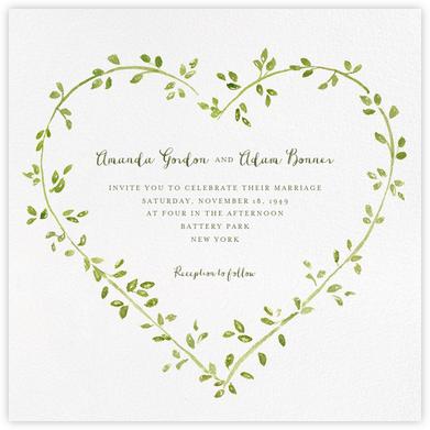 Dahlias (Square) - Paperless Post - Online Wedding Invitations
