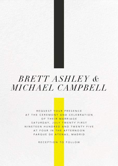 Chapter (Invitation) - Paperless Post - Modern wedding invitations