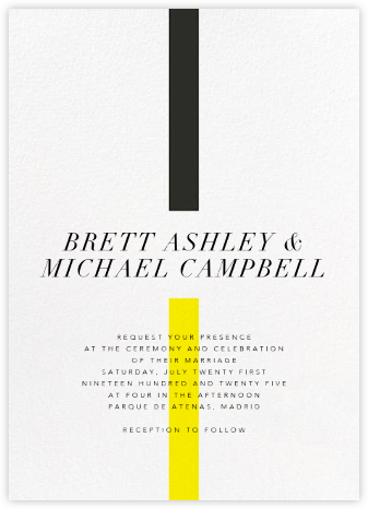 Chapter (Invitation) - Paperless Post - Modern wedding invitations