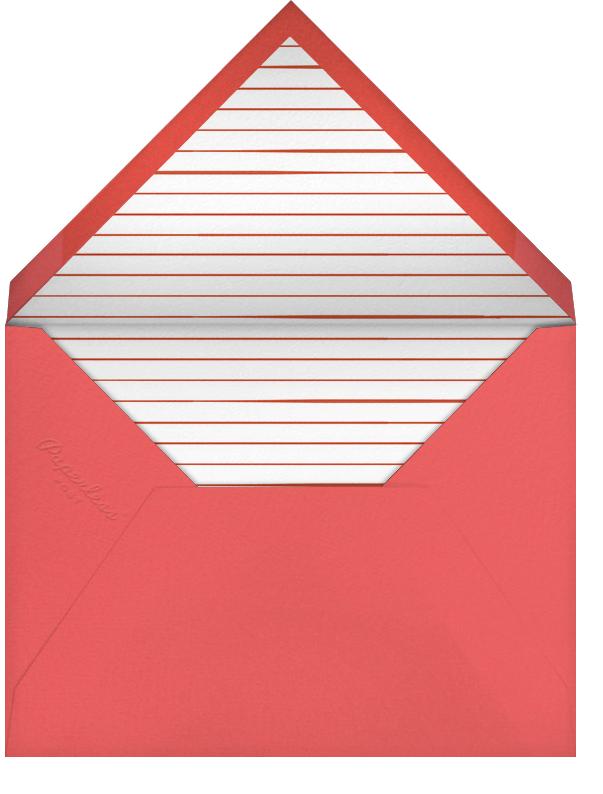 Sea Star - Paperless Post - Wedding stationery - envelope back