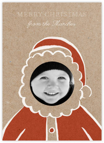 Santa Doodle - Paperless Post - Affordable Christmas Cards