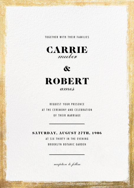 Bristle - Paperless Post - Wedding invitations