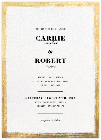 Bristle - Paperless Post - Modern wedding invitations