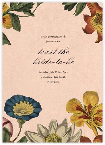 Botanica (Invitation) - John Derian - John Derian stationery