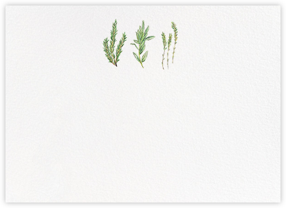Herbarium (Stationery) | horizontal