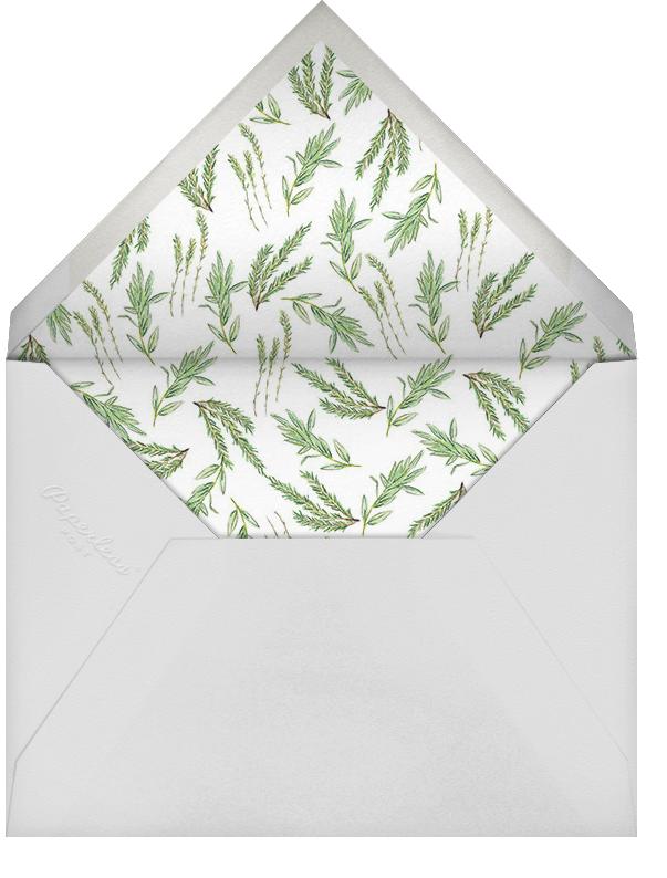 Herbarium (Stationery) - Paperless Post - Notecards - envelope back