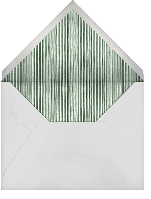 Pink Peony Border - Paperless Post - Notecards - envelope back