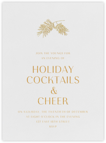 Caledonia (Invitation) - Paperless Post - Company holiday party