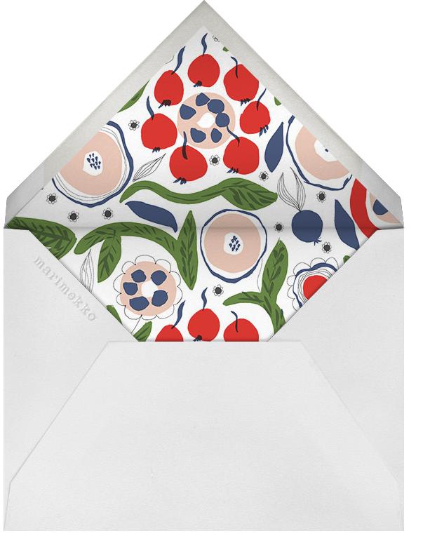 Katinala (Stationery) - Marimekko - Personal Stationery - envelope back