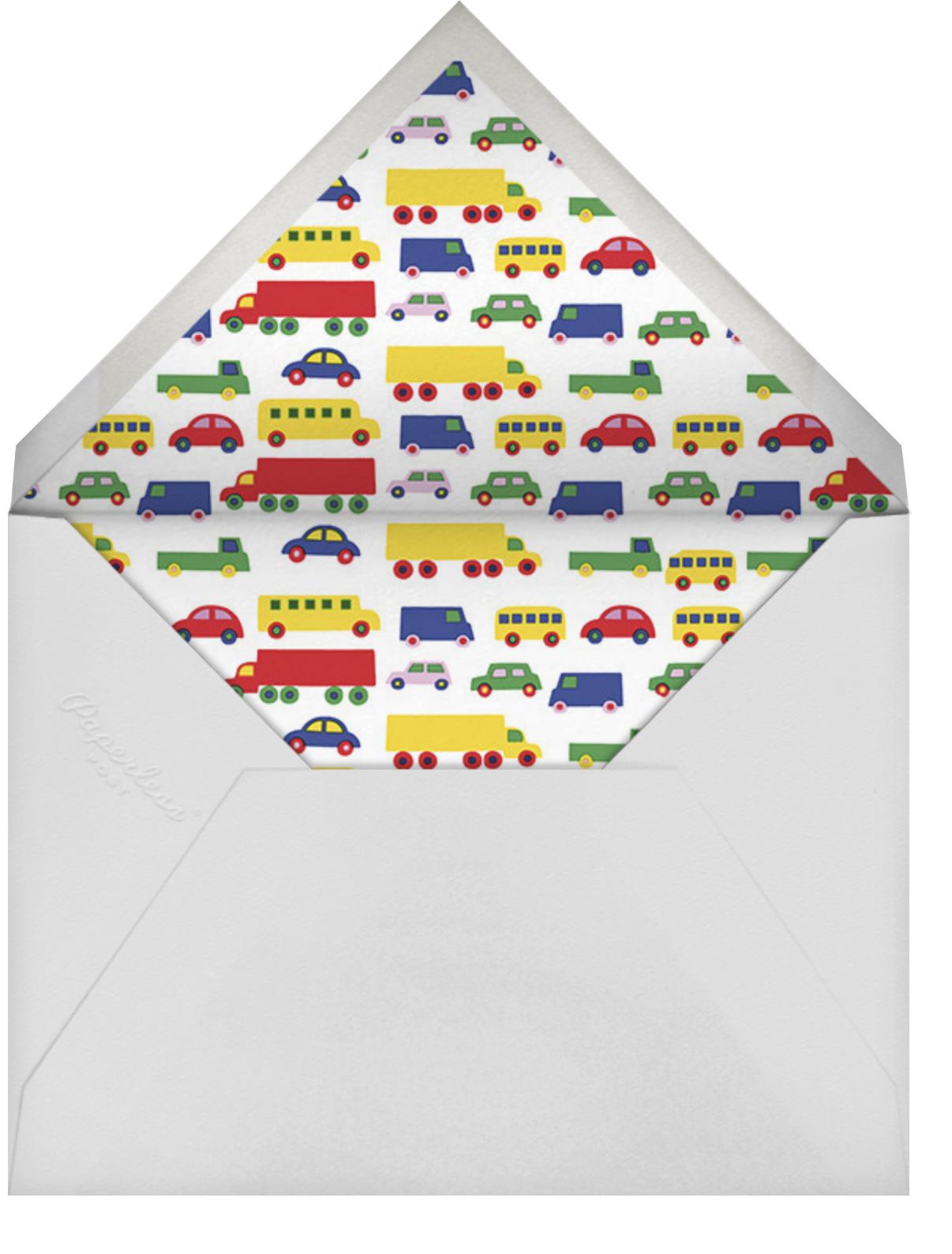 Bo Boo (Stationery) - Marimekko - Personal Stationery - envelope back