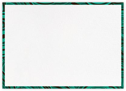 Malachite - Green - Jonathan Adler - Notecards