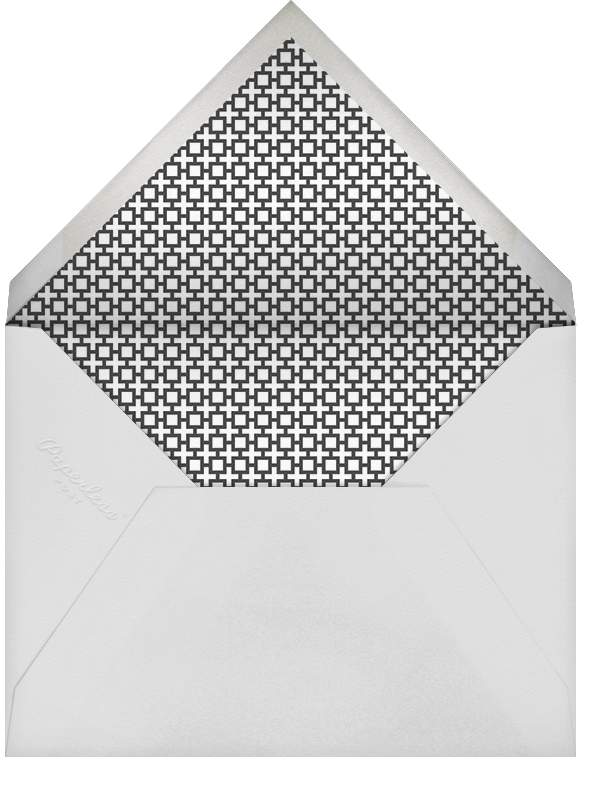 Nixon Border (Stationery) - Jonathan Adler - Notecards - envelope back