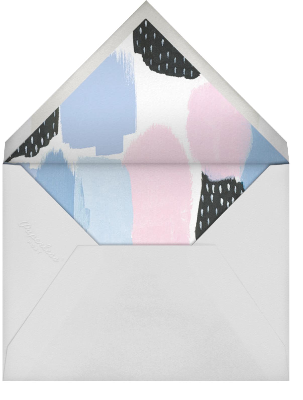 Dotscape - Blue - Ashley G - Envelope