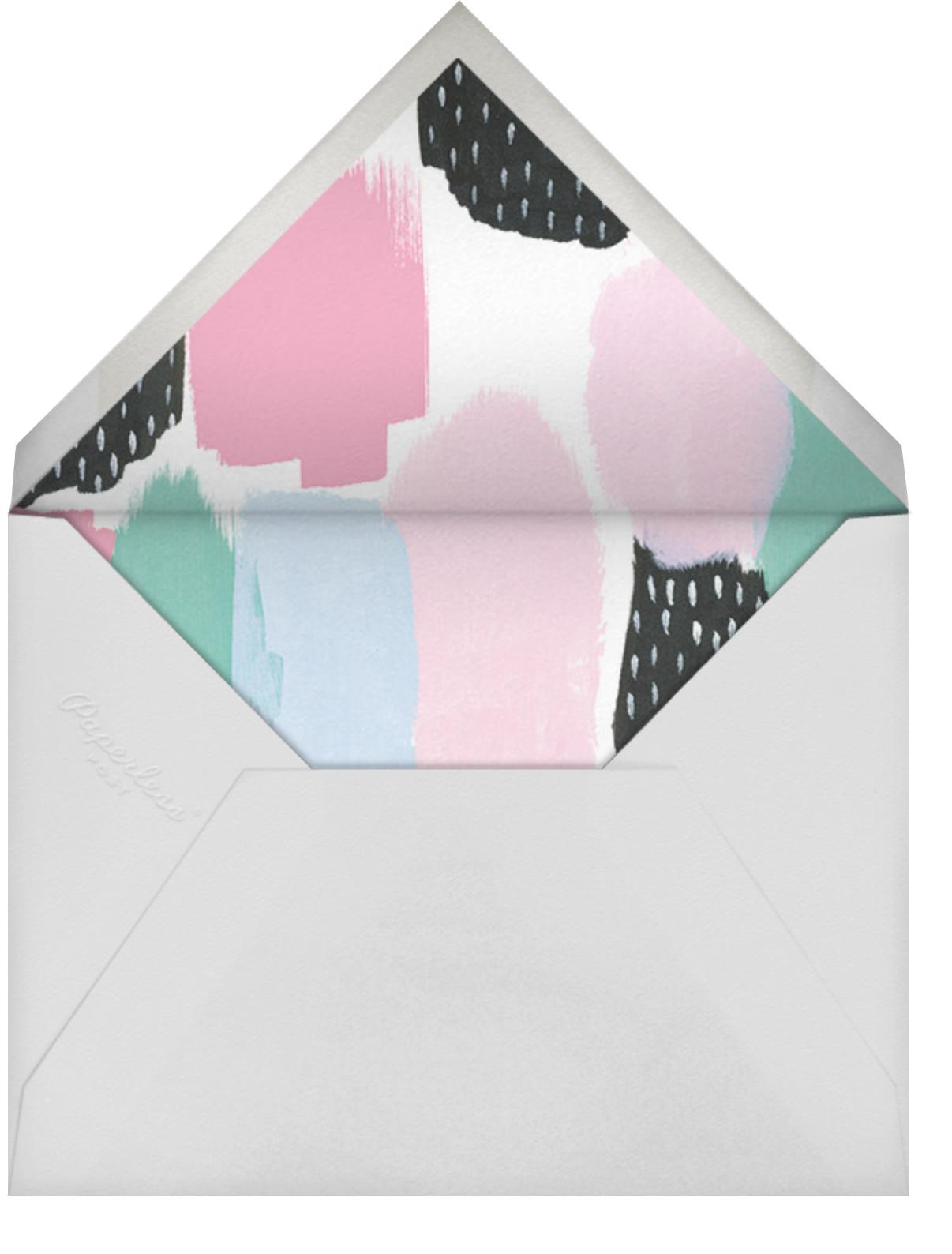 Dotscape - Pink - Ashley G - Kids' birthday - envelope back
