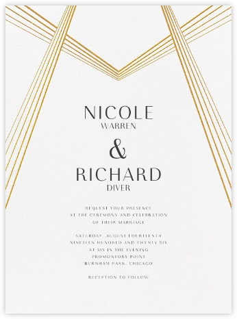 Thea (Invitation) - Paperless Post - Modern wedding invitations