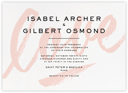 Joie de Vivre (Invitation) - Paperless Post - Modern wedding invitations