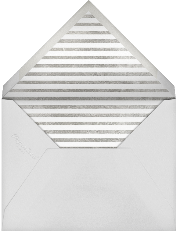 Imprint - White/Silver - Paperless Post - Save the date - envelope back