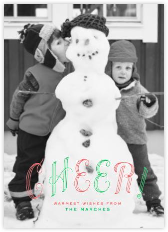 Cheer! - single photo - Paperless Post -