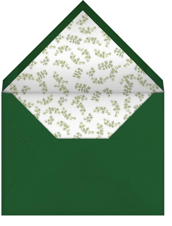 Mr. Kringle's Cap - Paperless Post - Envelope