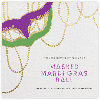 Lundi Gras - Paperless Post - Parties