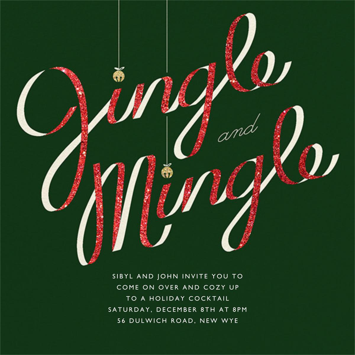 Jingle Bell Mingle - Paperless Post -