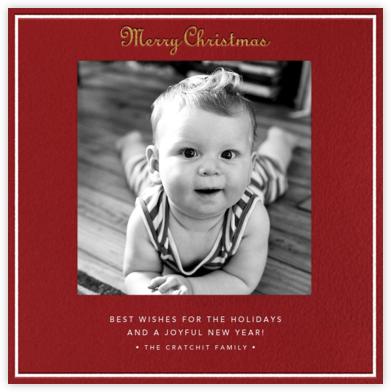 Merry Christmas - Cardinal - Paperless Post -