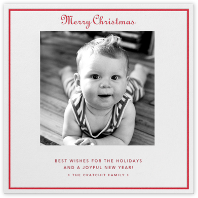 Merry Christmas - Ivory - Paperless Post -