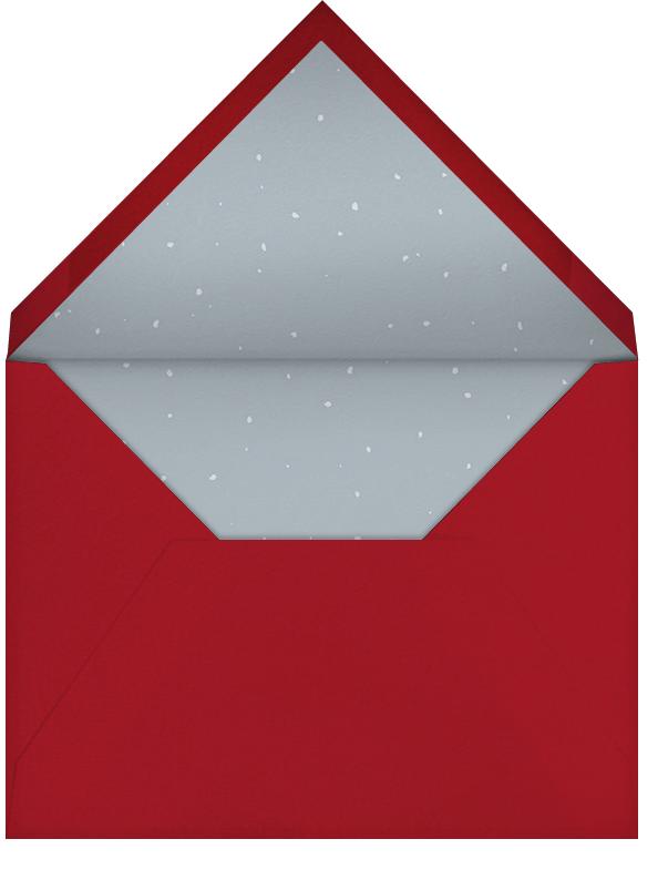 From Dancer to Prancer - Paperless Post - Christmas - envelope back