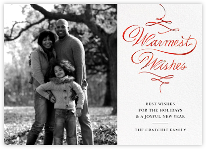 Warmest Wishes Photo - Paperless Post -