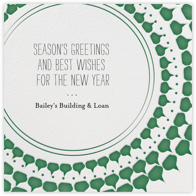 Ra Ra Christmas - Forest - Mr. Boddington's Studio - Company holiday cards