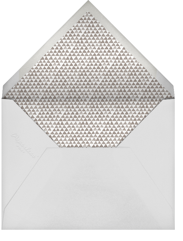 Triangles Splitscreen - Lapis Lazuli - Paperless Post - Holiday cards - envelope back