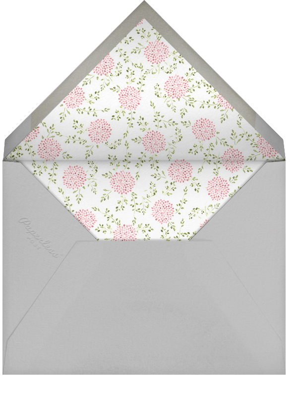 Dahlias (Save the Date) - Paperless Post - Save the date - envelope back