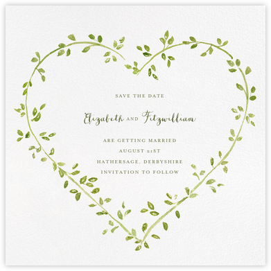 Dahlias (Save the Date) - Paperless Post - Wedding Change the Dates