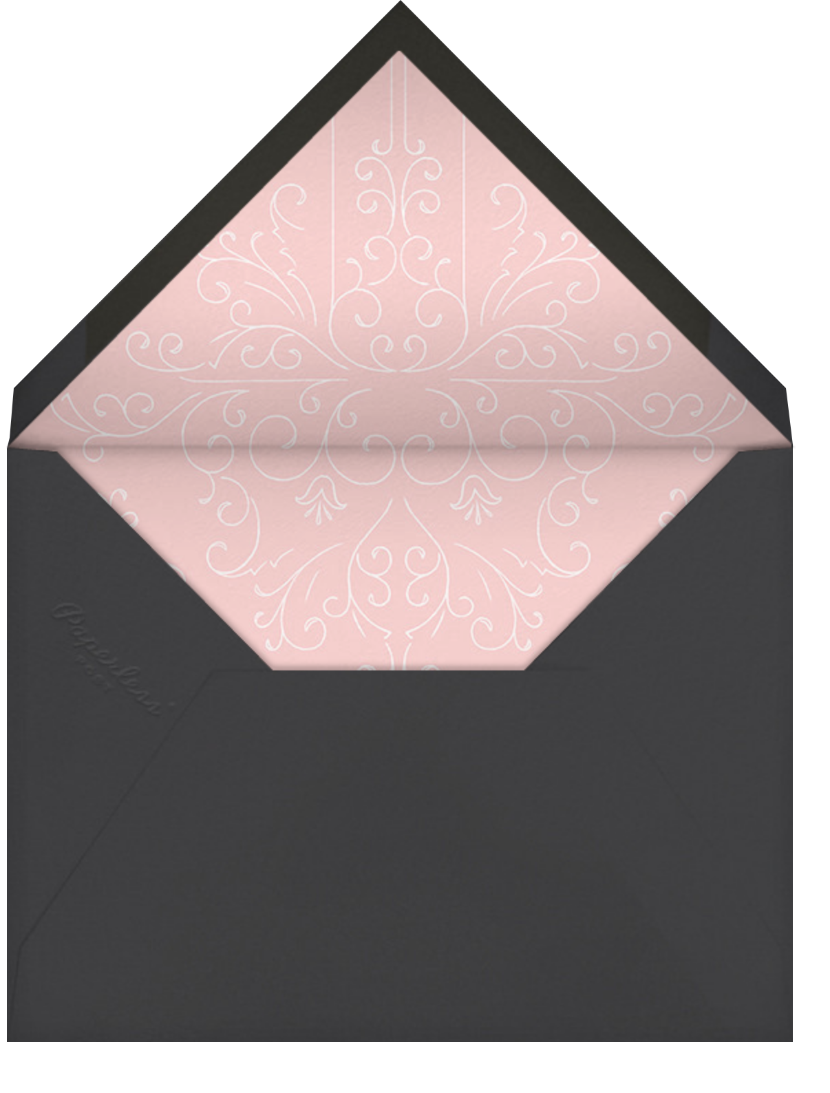 Split Square (Save the Date) - Paperless Post - Party save the dates - envelope back