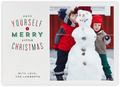 Christmas in St. Louis - Single Photo - Paperless Post - Photo Christmas cards