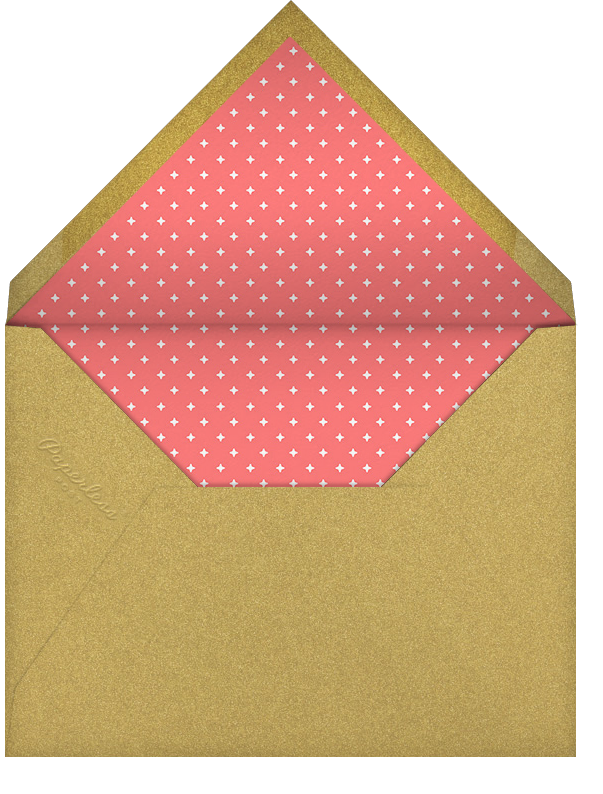 Figgy Cheer - Sepia Coral - Paperless Post - Holiday cards - envelope back