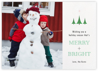 Bethlehem Forest - Paperless Post - Holiday Cards