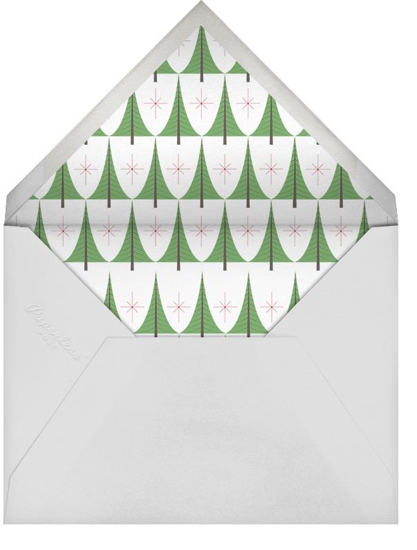 Bethlehem Forest - Paperless Post - Holiday cards - envelope back