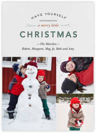 Wintry Tune - Christmas - Paperless Post -