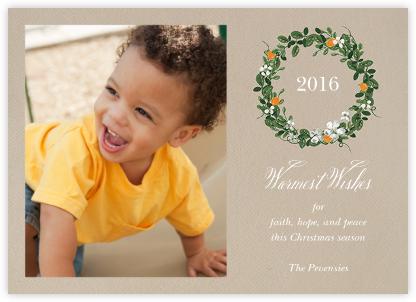 Kumquat Wreath - Paperless Post - Online Cards