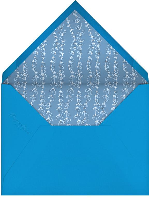 Vine Dove - Blue - Paperless Post - Holiday cards - envelope back