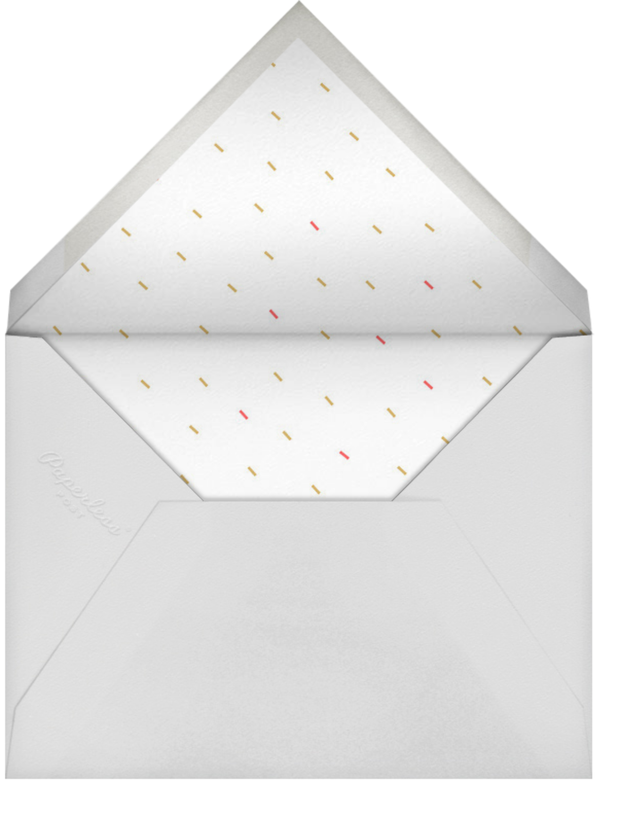 Full-Page Photo (Double-Sided) - Red - Paperless Post - Envelope