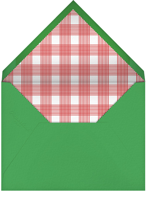 Full-Page Photo (Double-Sided) - Emerald - Paperless Post - Christmas - envelope back