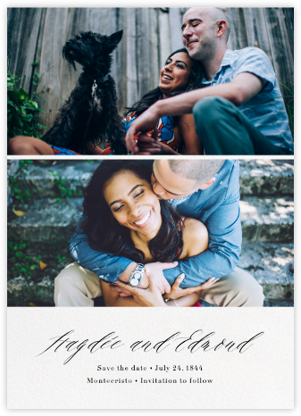 Entry - Paperless Post - Photo save the dates