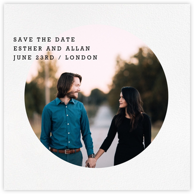 Vignette (Save the Date) - Paperless Post - Modern save the dates