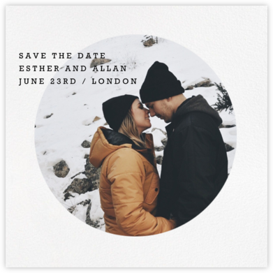 Vignette (Save the Date) - Paperless Post - Save the dates