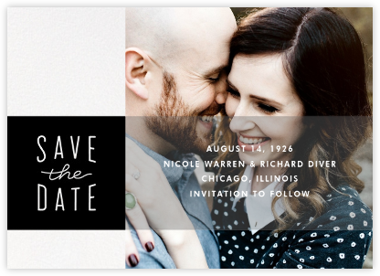 Composition - Paperless Post - Wedding Save the Dates
