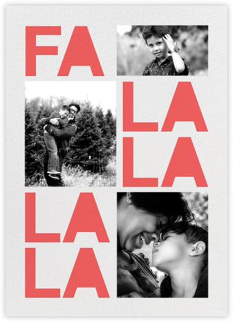 Fa Lalala La - Coral - Paperless Post -