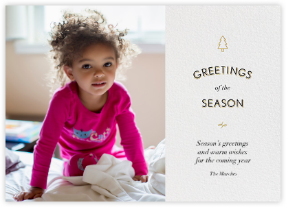 Pine Greetings - Paperless Post - Holiday Cards
