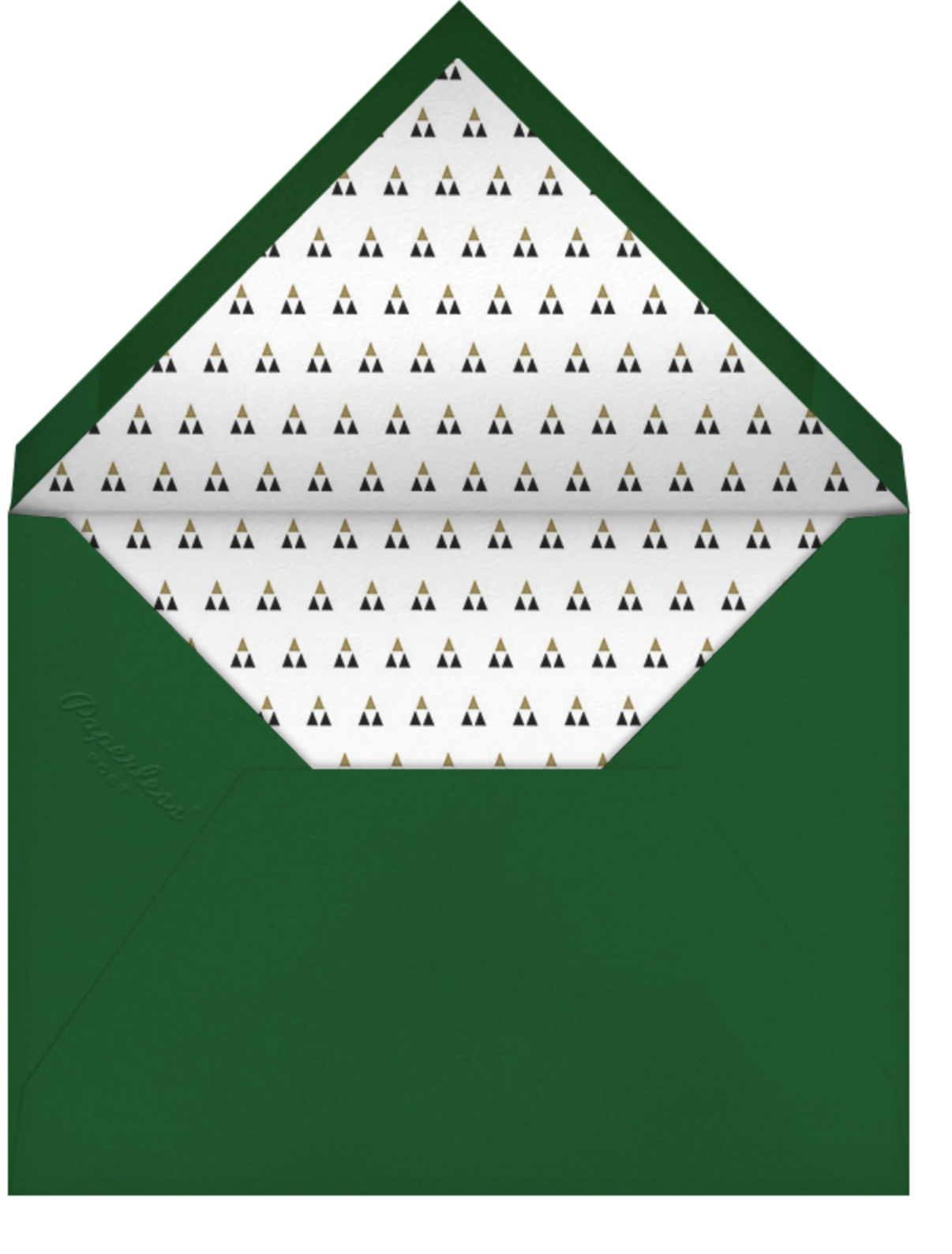 Merry Scrollwork - Paperless Post - Envelope